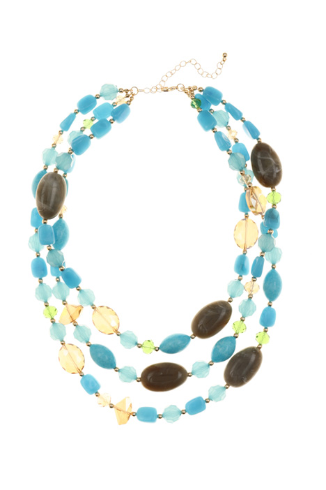 Multi-row necklace Intrend