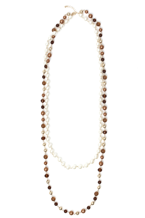 Long double necklace Intrend