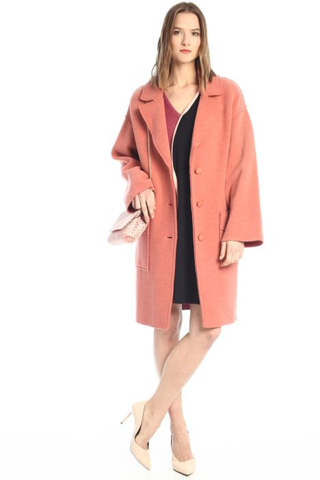 Boiled-wool coat  Intrend