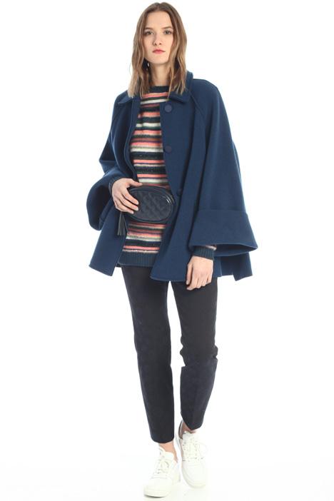 Boiled-wool pea coat  Intrend