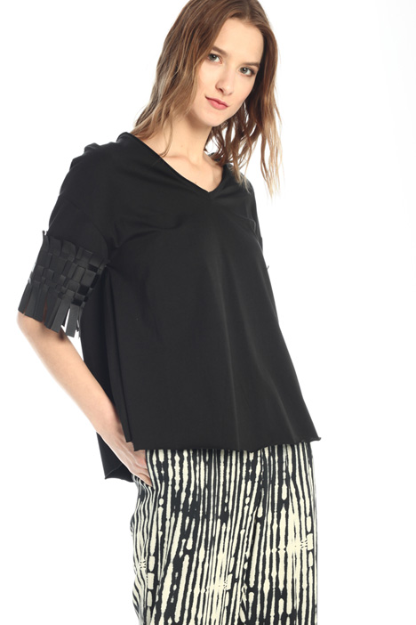 Fringed T-shirt Intrend