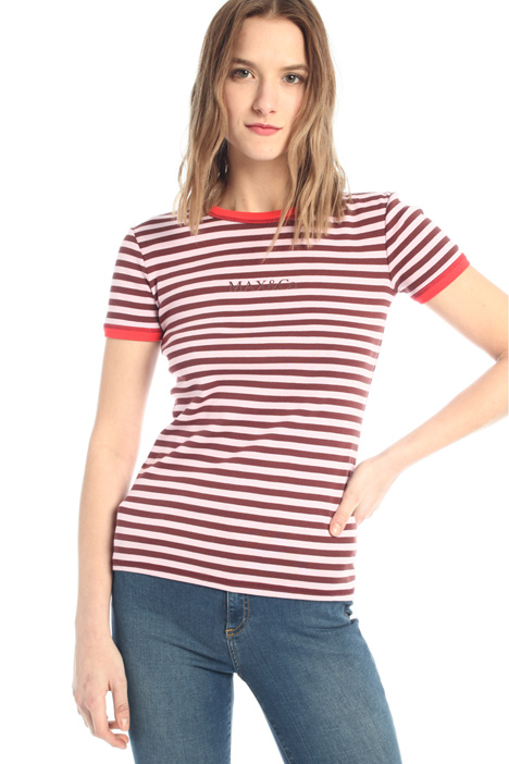 Fitted jersey T-shirt Intrend