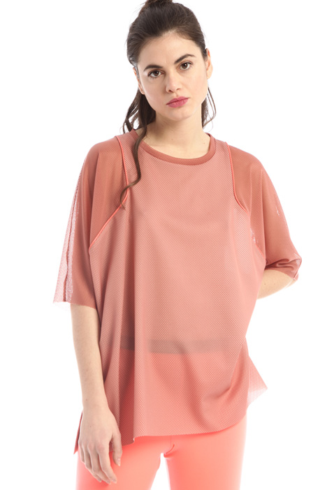 Oversized mesh T-shirt  Intrend