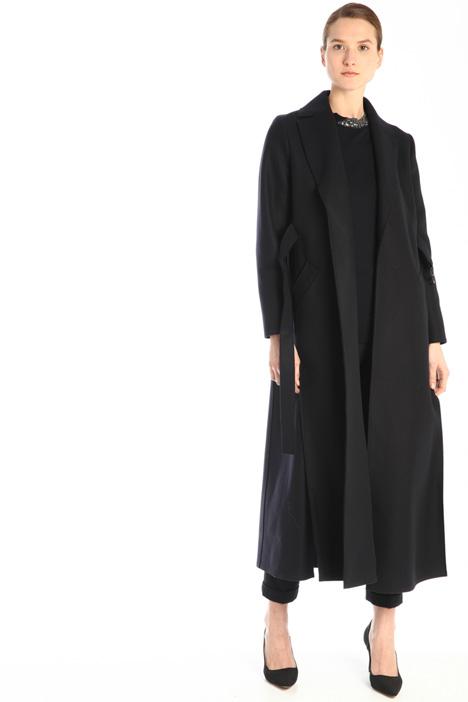 Broadcloth long coat  Intrend