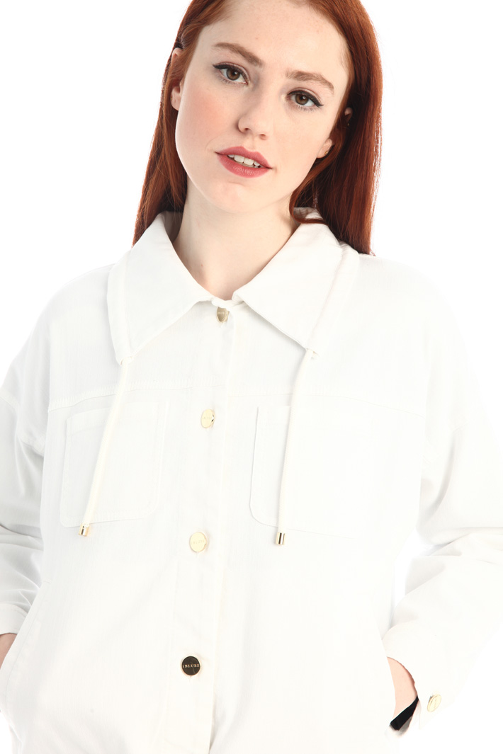 Cotton bull boxy jacket Intrend