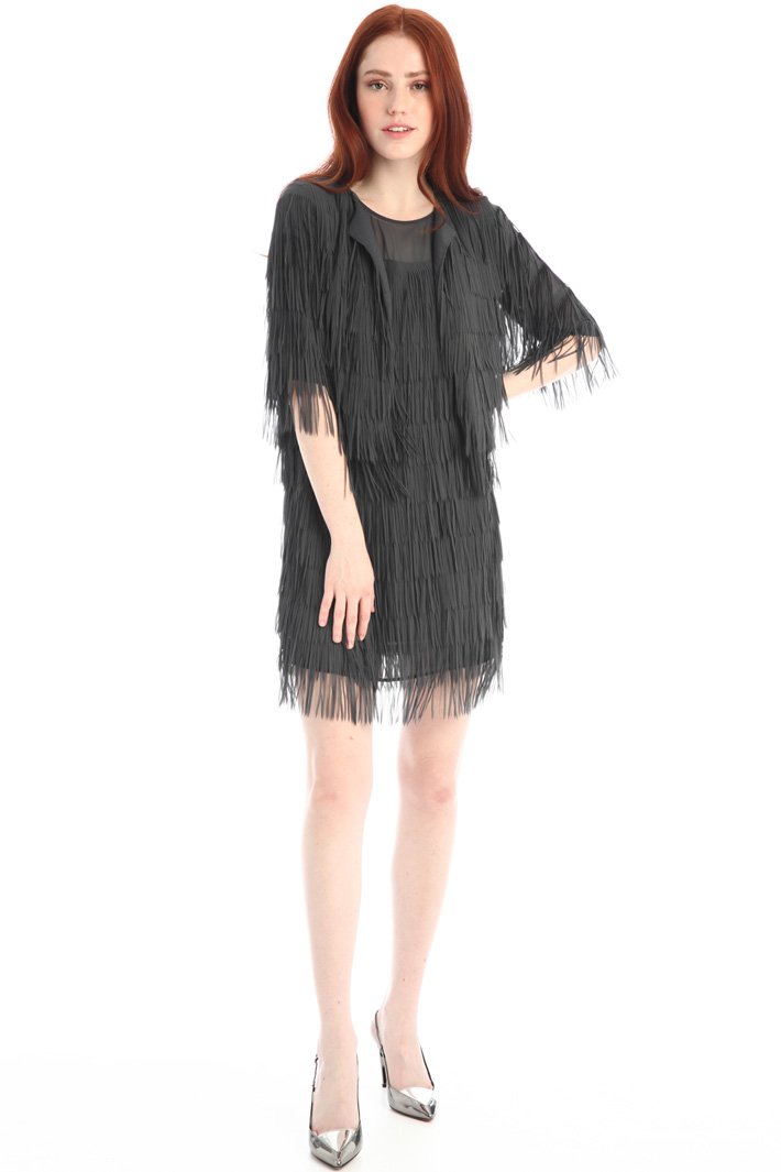 Fringed jacket Intrend