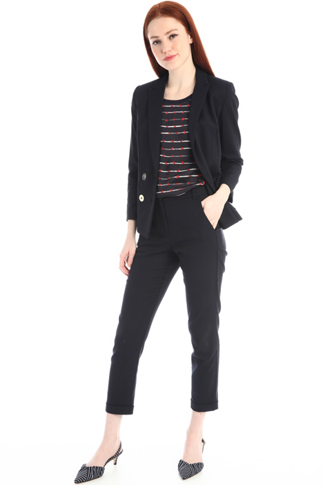 Stretch double-breasted blazer Intrend