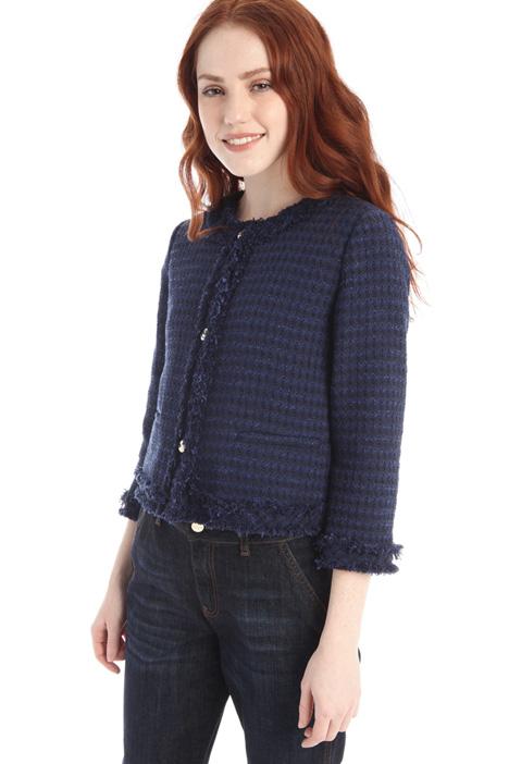 Boxy tweed jacket Intrend