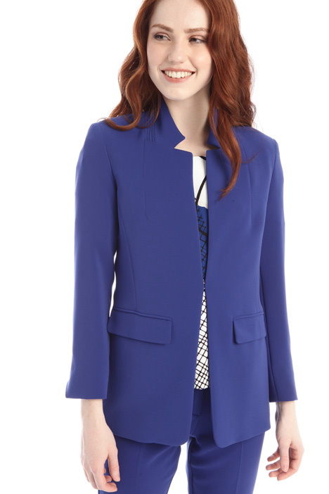 Semi-fitted cady blazer Intrend