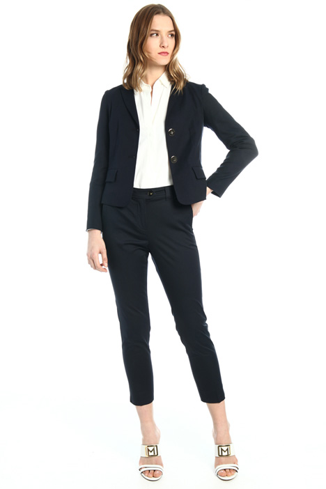 Slim fit yarn dyed blazer Intrend