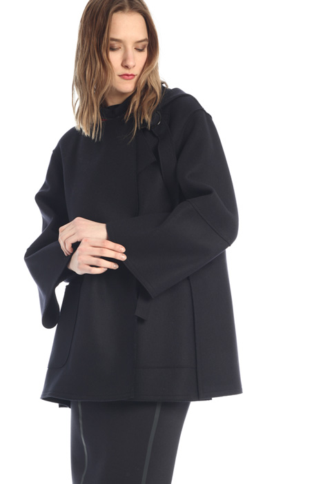 Hooded peacoat  Intrend