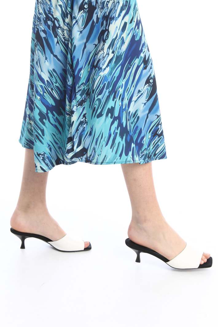 Semi-fitted cady skirt Intrend