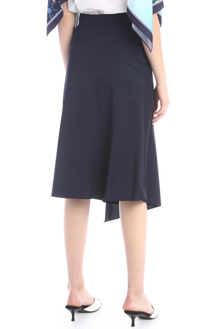 Wrap-up flounced skirt Intrend