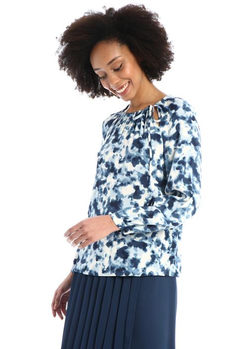 Viscose sablé blouse  Intrend