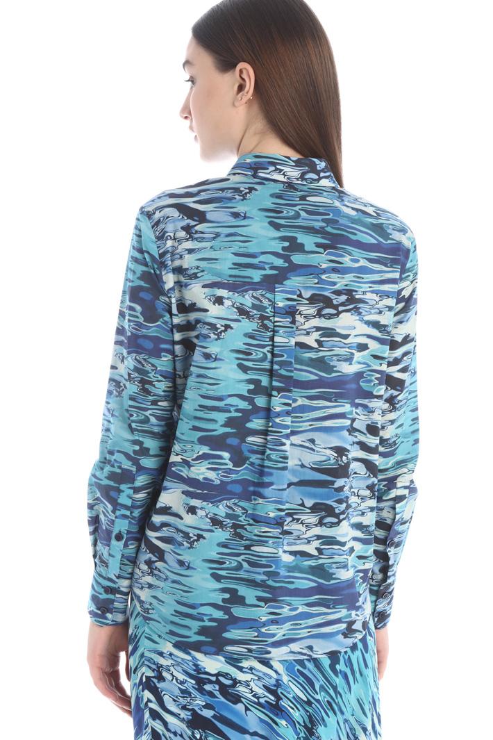 Printed muslin shirt Intrend