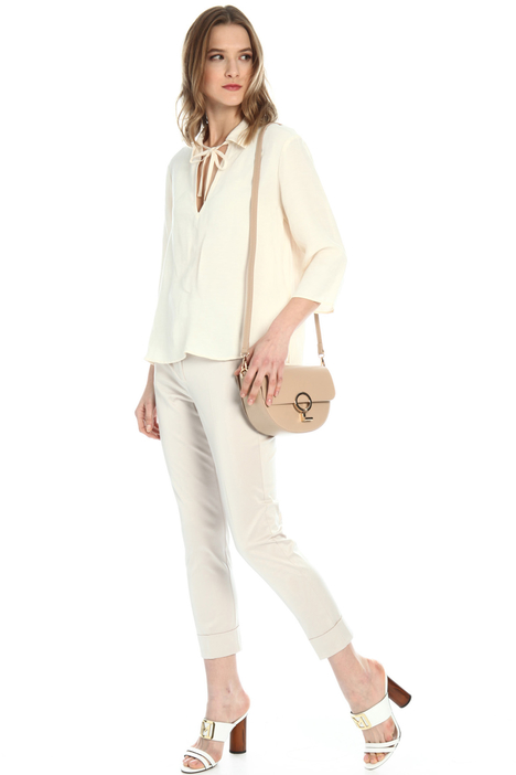 Loose fit linen blouse Intrend