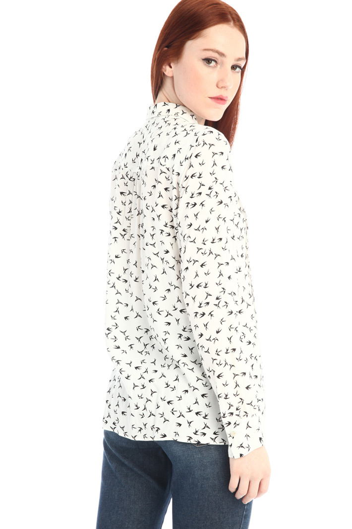 Viscose crepe shirt Intrend