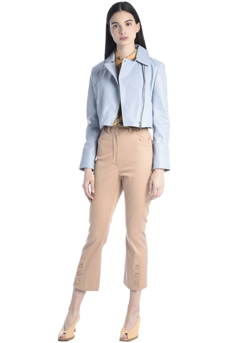 Buttoned hem trousers Intrend