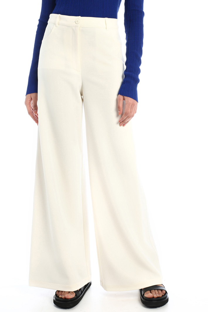 Wide palazzo trousers  Intrend