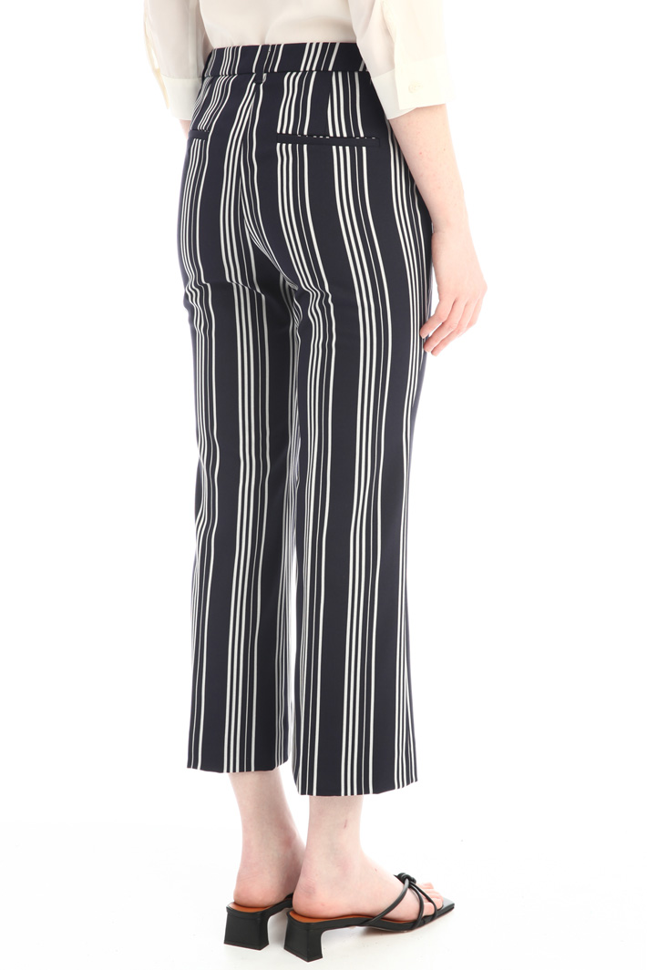Stretch flared trousers Intrend
