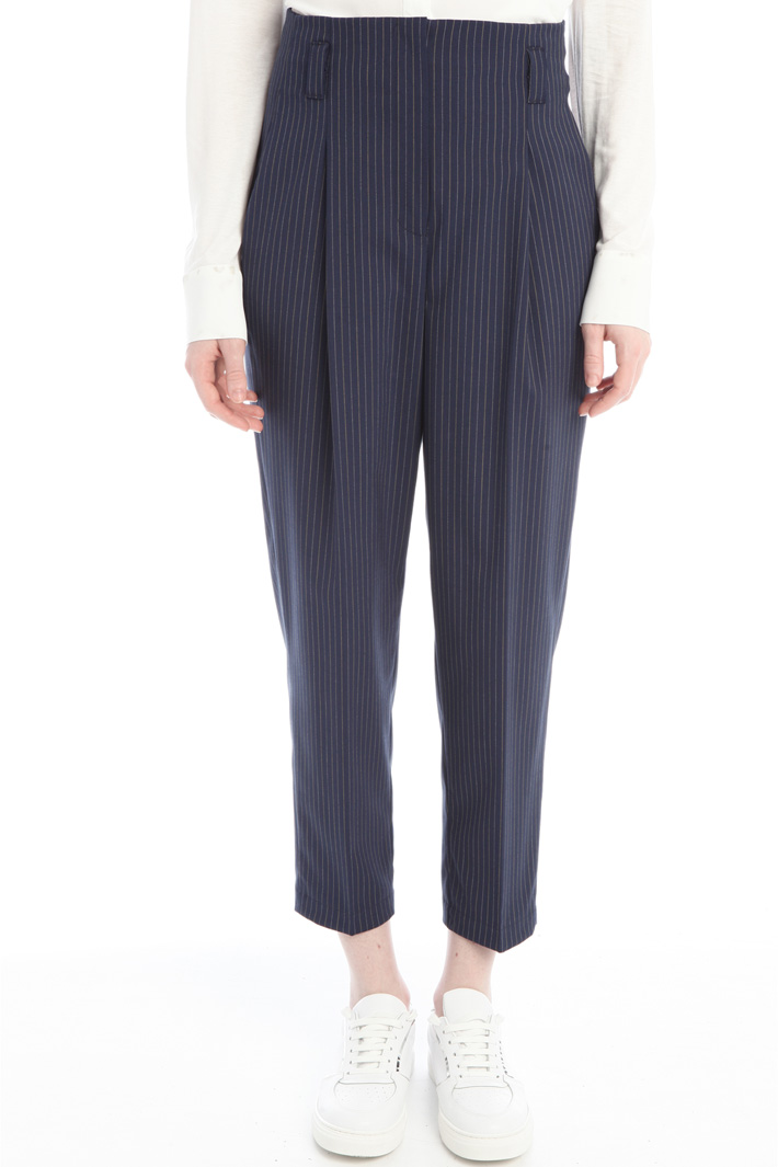 Canvas carrot trousers Intrend