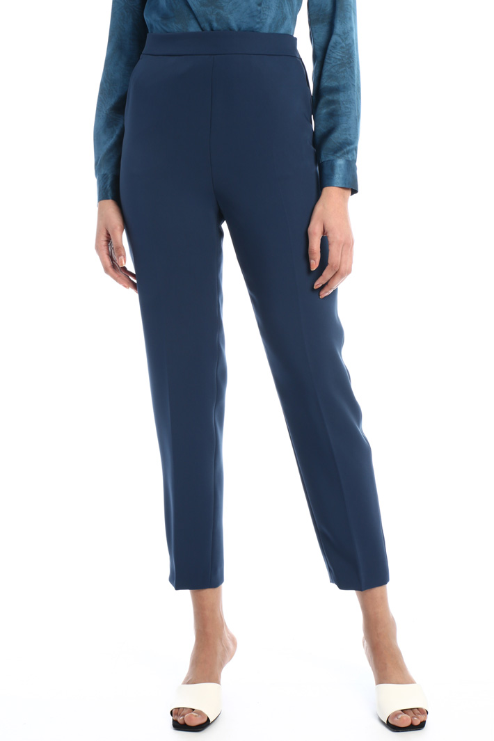 Floaty twill trousers  Intrend