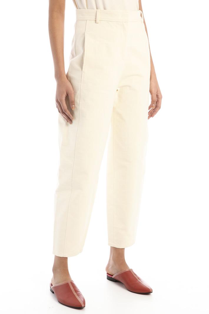 Soft natté trousers Intrend