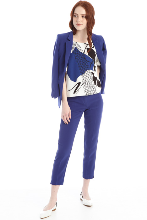 Cigarette trousers in cady Intrend