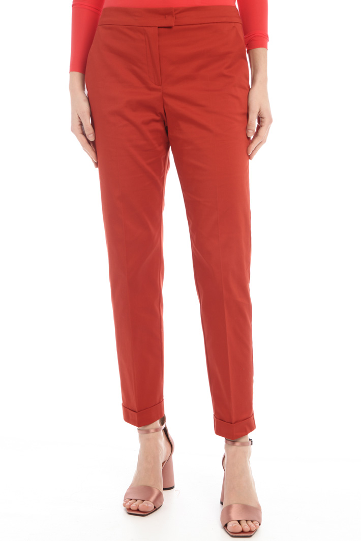 Folded trousers Intrend