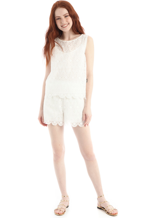 Macrame lace shorts Intrend