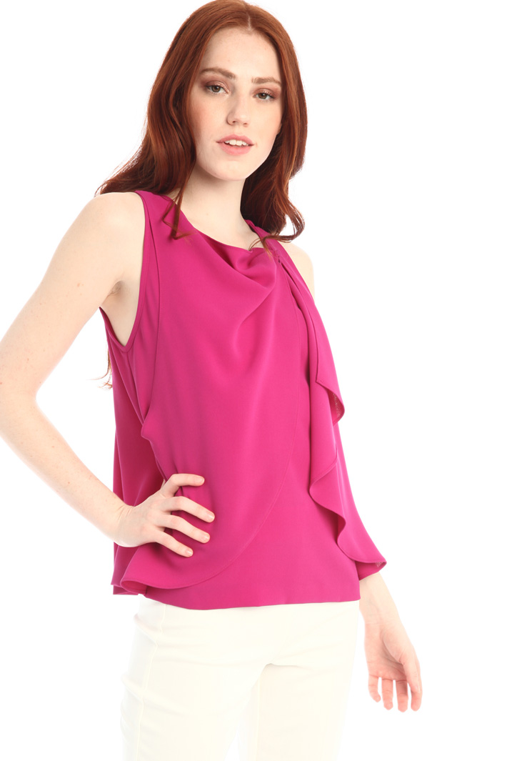 Crepe top Intrend