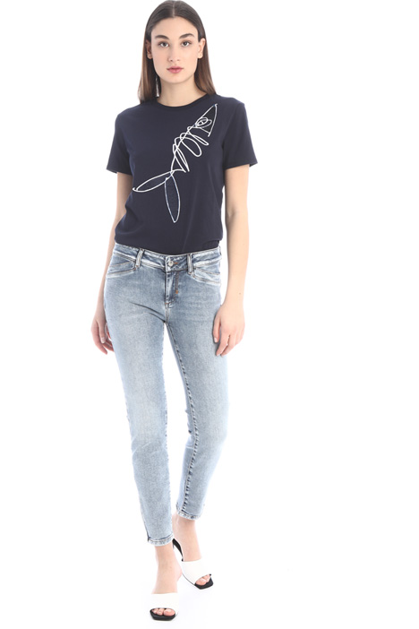 Washed-effect jeans Intrend