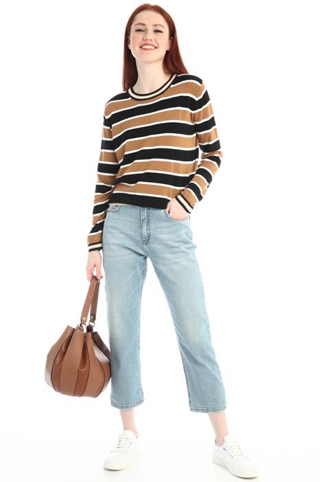 Straight leg crop jeans Intrend