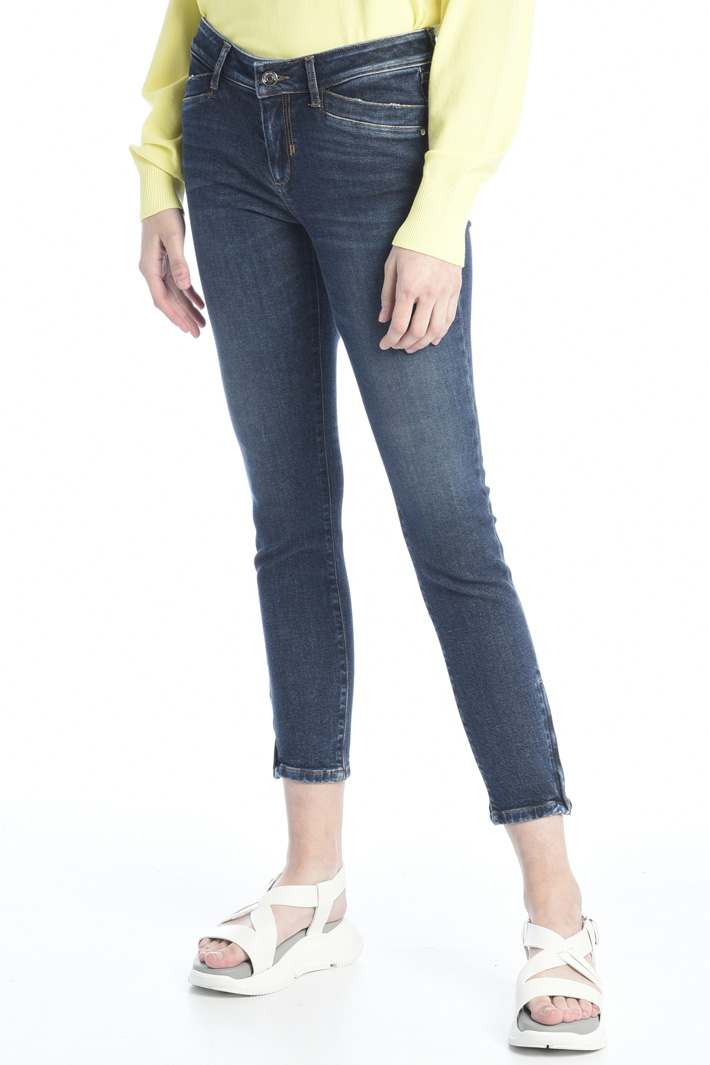 Skinny jeans with ankle zip Intrend