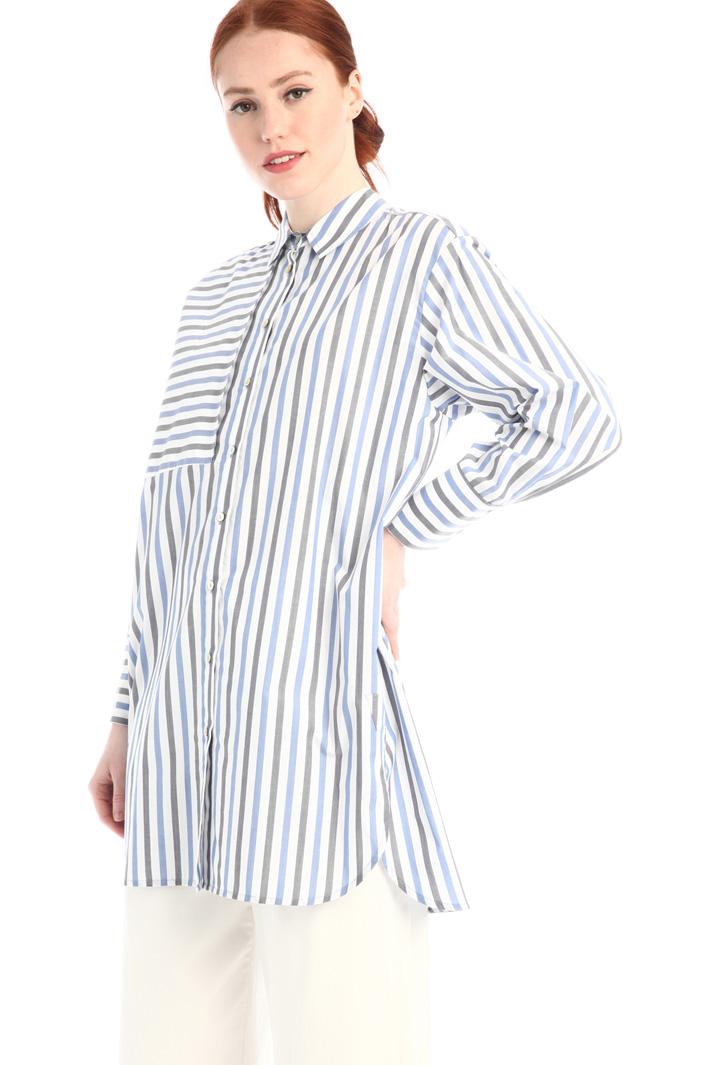 Loose fit poplin shirt Intrend