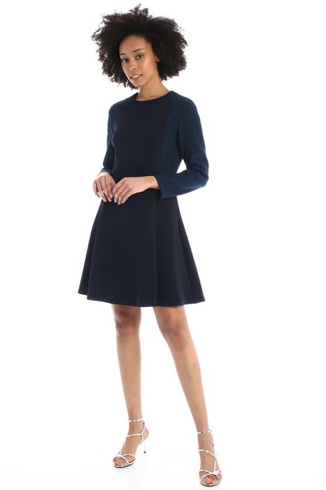 Flared stretch dress Intrend