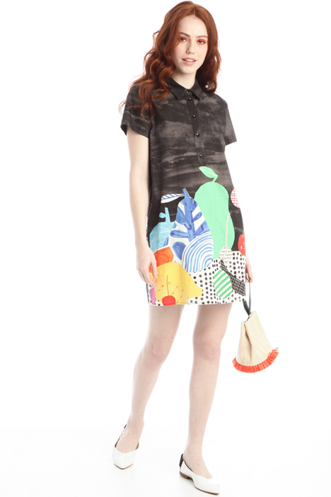 Printed polo dress Intrend