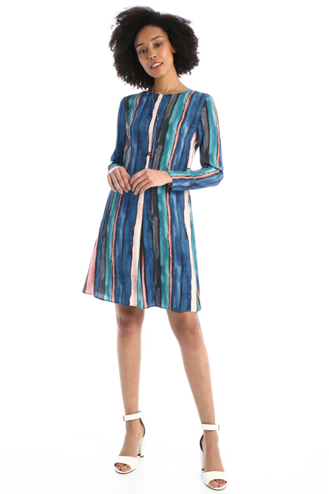 Flared sablé dress Intrend