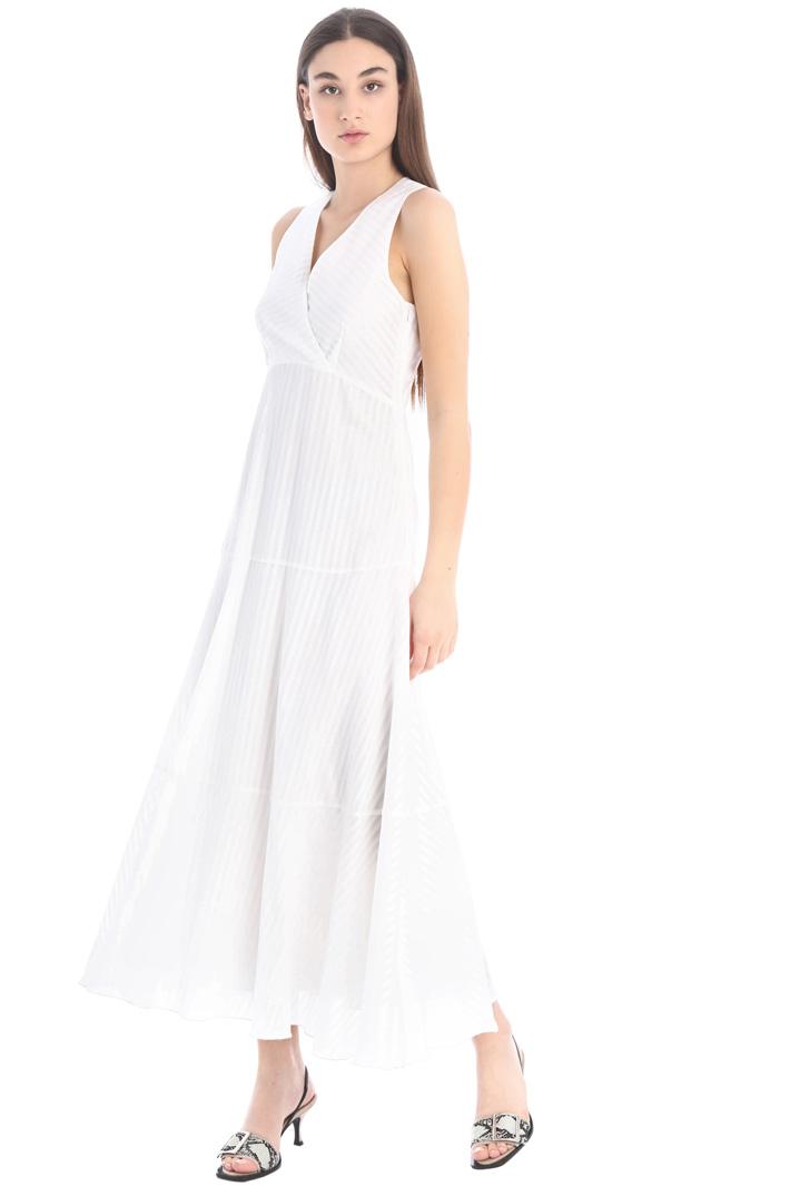 Long flounced dress Intrend