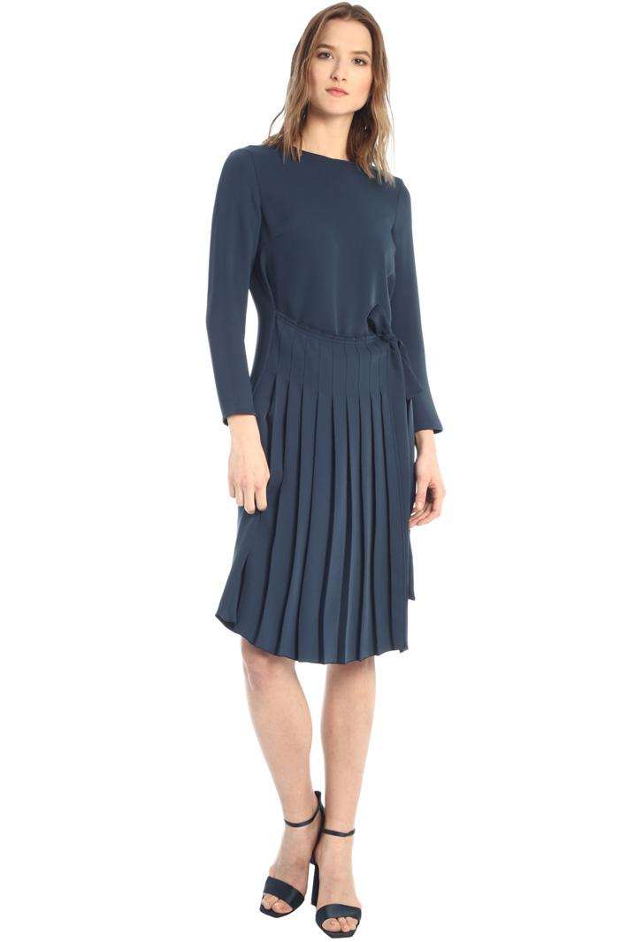 Pleated fluid dress  Intrend