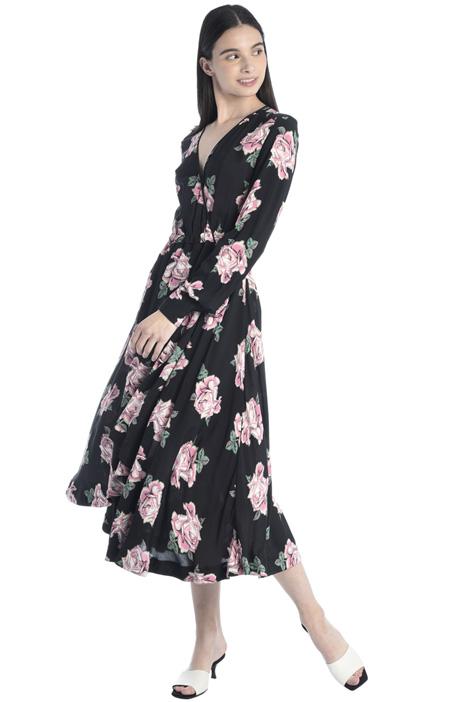 Flared viscose dress Intrend