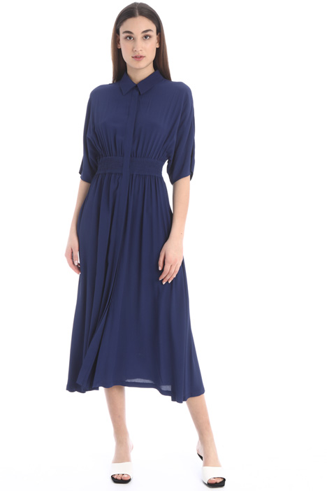 Crepe chemisier dress Intrend