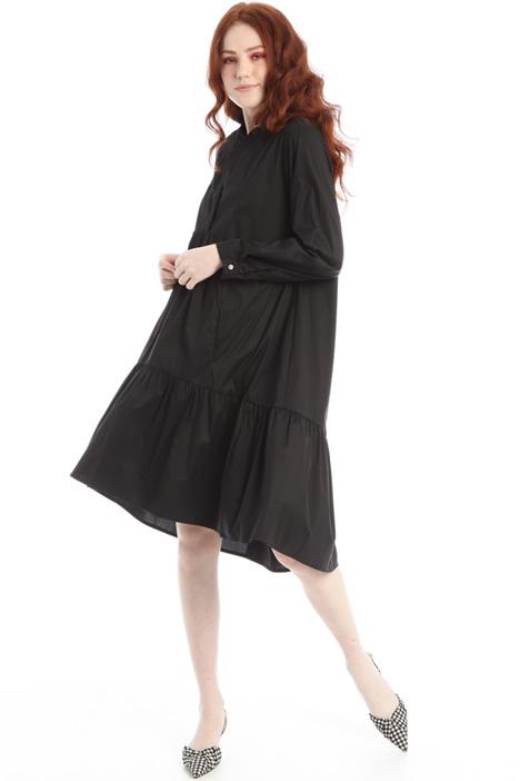 Loose fit poplin dress Intrend