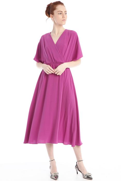 Fluidcrepe dress Intrend