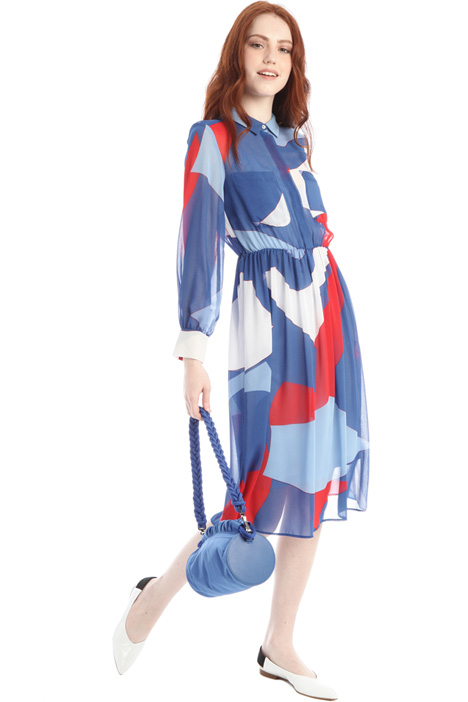 Georgette chemisier dress Intrend