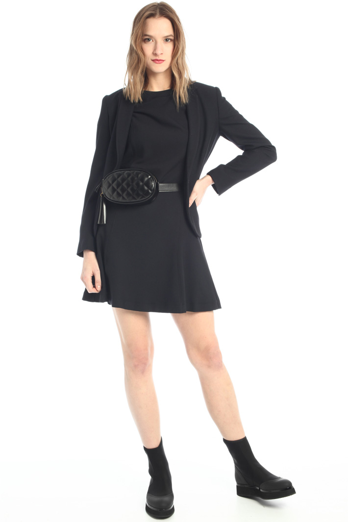 Short semi-fitted dress  Intrend