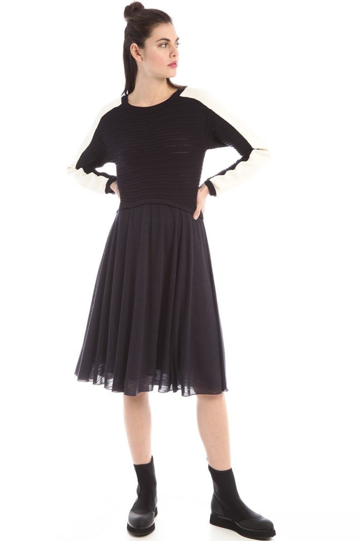 Double-effect dress Intrend