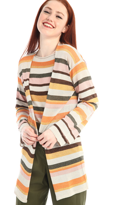Lurex viscose cardigan Intrend