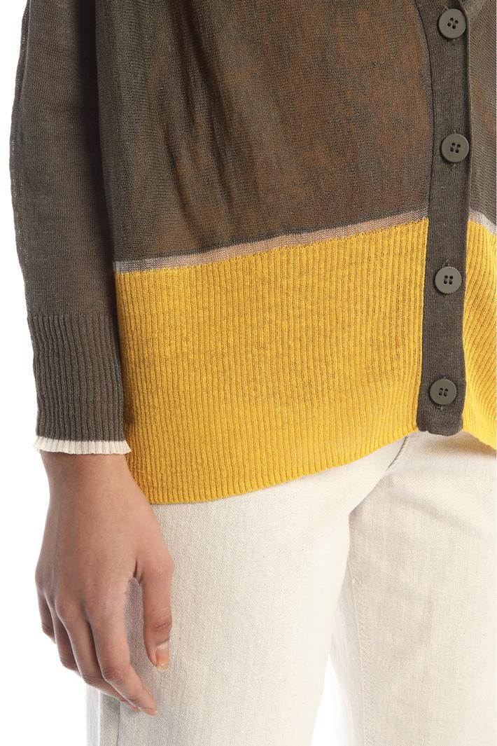 Color-block cardigan Intrend
