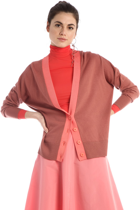 Pure merino wool cardigan  Intrend